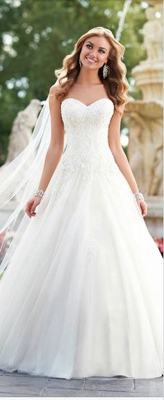 Such a perfect look on your big day!