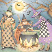 Debbie Mumm's Halloween Night