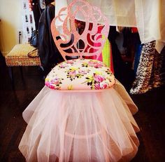 Definitely a DIY project - Betsey Johnson chair
