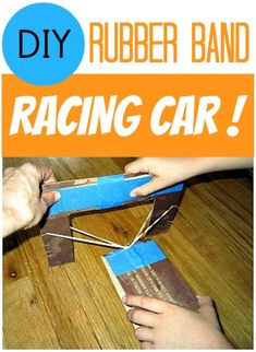 how to make a rubber band car tuen