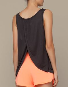 Oysho Top with open back detail