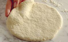 Pizzadej - opskrift på dej til pizza