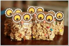 Owl snack for preschool