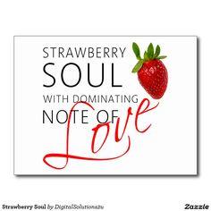 Strawberry Soul Postcard
