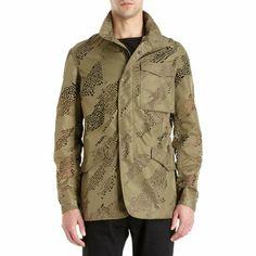 Maharishi Lasercut Field Jacket Sale up to 70% off at Barneyswarehouse.com