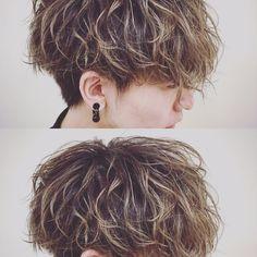 Mold Spray, Mens Perm, Being Good, Cute Hairstyles, My Hair, Pixie, Curly Hair Styles, Hair Cuts, Hair Color