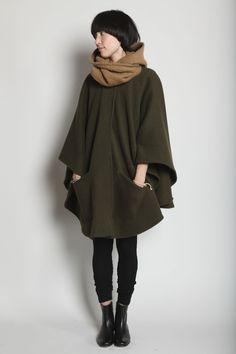 Lindsey Thornburg mid-length cloak
