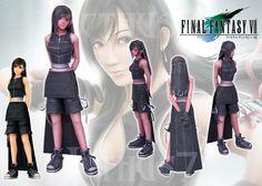 Tifa Lockhart Final Fantasy by enrique3 on deviantART