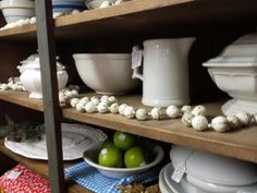 Large collection of Ironstone offered by Foxglove Antiques located in WIGGETT'S ANTIQUE MARKETPLACE