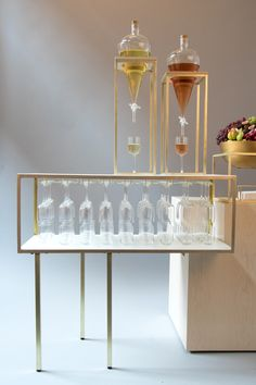 """After a year of product development, Pinch Food Design debuts their craft cocktail division - TWIST - featuring a """"Mod"""" Bar for cocktail activations."""