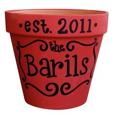 Year Established Name Pot - DixieBelle Gifts Store