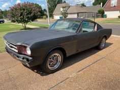 With a healthy V8 under the hood, this 1965 Mustang Fastback is a stalled project that needs a new owner. Would you be willing to complete the work? #Ford, #Mustang22