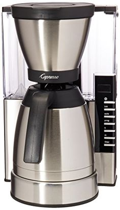 Capresso MT900 10Cup Rapid Brew Coffee Maker w Thermal Carafe ** Check this awesome product by going to the link at the image.Note:It is affiliate link to Amazon.