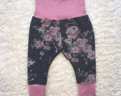 Browse unique items from marysayssew on Etsy, a global marketplace of handmade, vintage and creative goods. Handmade Baby, Handmade Gifts, Baby Girl Leggings, Harem Pants, Etsy Seller, Hoodies, Trending Outfits, Creative, Unique