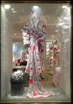 Porthault  Fragrance print robe~ Geoff Howell Studio Inc.