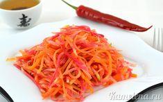 Корейский салат из редьки