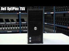 Počítač DELL OptiPlex 755 tower Intel Dual Core 2,4 GHz E2220, 2 GB RAM DDR2, 80 GB HDD SATA, DVD-RW, licence Windows 7 HOME CZ s kabelem
