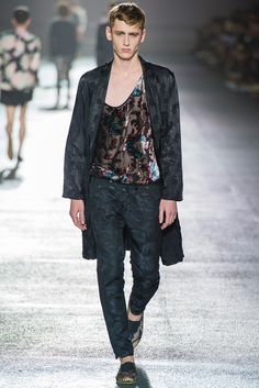Dries Van Noten Spring 2014 Menswear Fashion Show