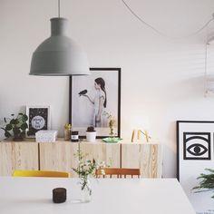 Ikea 'Ivar' cabinets in a fresh & friendly home @desireesoegaardphotography