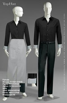 Uniforms Restaurant Uniforms, Uniform Design, Pinterest Board, Management, Art, Style, Fashion, Art Background, Swag