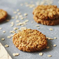Anzac biscuits | Anzac Day | Harris Farm Markets | Harris Farm Markets Beef Tri Tip, Mango Sauce, Anzac Biscuits, Berry Crumble, Roast Eggplant, Porcini Mushrooms, Poached Pears, Braised Chicken