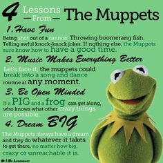Lessons from The Muppets
