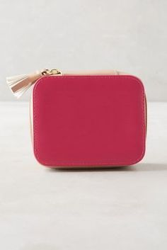 Anthropologie Merrivale Vegan Leather Jewelry Case #anthrofave