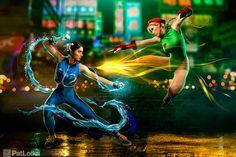 Chun Li vs. Cammy | by PatLoika