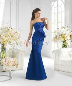 Mermaid Satin Schleife Abendkleider PSL1305373