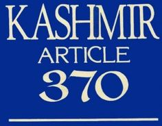 As usual, every political party in this election campaign has used or will be using article 370 as one of the burning issue. At the Bharatiya Janata Party's recent Lalkar rally in Jammu, its prime ministerial candidate, Narendra Modi, called for a debate on Article 370