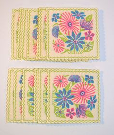 Floral Summer Party Coasters!