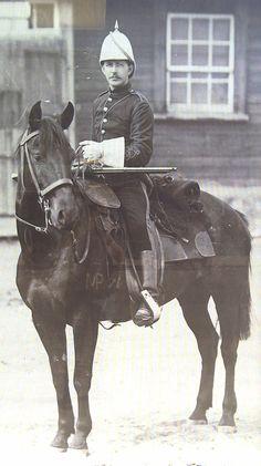 Northwest Mounted Police. Canada West. 1875.