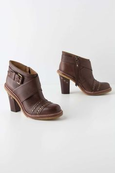 Studded Strap Booties from Anthropologie