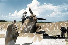 Logged on to one of the many FB groups that post pictures of Luftwaffe machines and came across a couple of neat 'colourised' images of Emm. Aircraft Photos, Ww2 Aircraft, Fighter Aircraft, Military Aircraft, Luftwaffe, Fighter Pilot, Fighter Jets, Me 109, Ww2 Planes