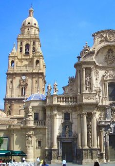 Catedral de Murcia. Spain by Joaquin Cuenca