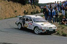 Ford Sierra RS Cosworth 1988 WRC Didier Auriol #motorsport #racing #rallye #car #motor #passion #sport