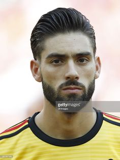 Yannick Carrasco of Belgium during the 2018 FIFA World Cup Russia group G match between Belgium and Tunisia at the Otkrytiye Arena on June 23, 2018 in Moscow, Russia
