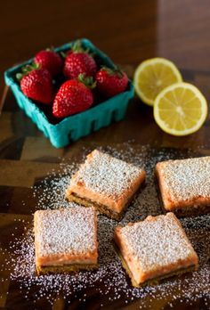Aida Mollenkamp shares her delicious recipe for strawberry lemonade bars with a pistachio-graham cracker crust and honey sweetness. It doesn't get better than this!