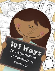 101 Ways to Respond to Independent Reading: The Ultimate Readers Workshop Response Resource from Third Time's a Charm! on TeachersNotebook.com -  (106 pages)  - Thank you for checking out my independent reading response packet. This truly has been a labor of love and I am so excited to share the finished product with you. In this packet, you will find 101 dif