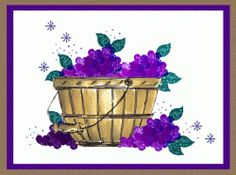 Grape Bushel Basket