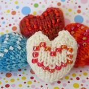 Wee 'Lil Hearts - via @Craftsy
