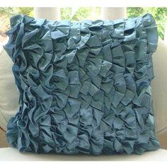 Handmade Blue Pillow Cases, Contemporary Solid Pillows Co... https://www.amazon.com/dp/B004NPU3RI/ref=cm_sw_r_pi_dp_x_sm-sybBS9ZHYW