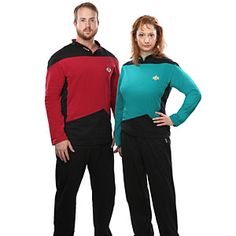 ThinkGeek :: Star Trek TNG Pajama Set