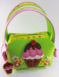 Cupcake, Little Girl Purse. $12,00, via Etsy.