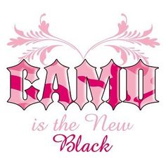 Camo Is The New Black Woman's by Mychristianshirts on Etsy