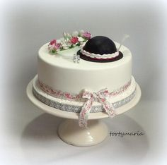 wedding folklore by tortymaria - http://cakesdecor.com/cakes/293595-wedding-folklore