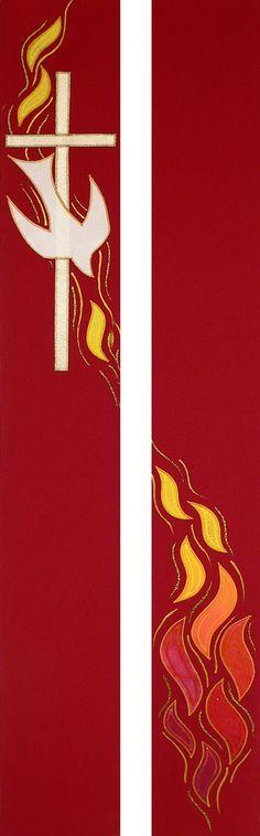 dove, cross & flames - full length