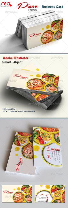 italian restaurant business card template card templates