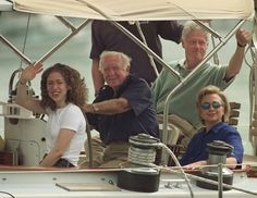 WALTER CRONKITE got the Clinton's out for a sail. ~gws