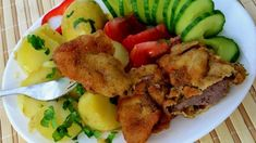FICĂȚEI DE PUI PANE Foie Gras, Ratatouille, Ketchup, Broccoli, Food And Drink, Lunch, Beef, Chicken, Foods
